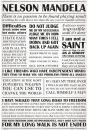 Nelson Mandela Droga do Wolności - plakat - Plakaty. Motywacyjne