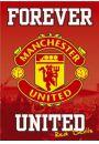 Manchester United - Forever United - plakat - Plakaty. Sport
