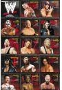 WWE Wrestling Statystyki - plakat - Gry