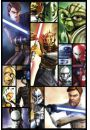 Clone Wars Wojny Klonów Kompilacja - plakat
