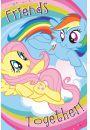 My Little Pony Przyjaciele razem - plakat