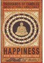 Szczęście - Budda i Tysiąc Świec - plakat motywacyjny - Plakaty. Motywacyjne
