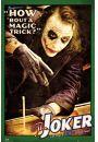 Batman Mroczny Rycerz Joker Magiczna Sztuczka - plakat - Gangsterskie