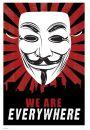 V for Vendetta - Jesteśmy Wszędzie - plakat - Fantastyczne