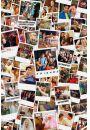 Friends Przyjaciele Kolaż Zdjęć Polaroid - plakat - Razem