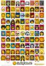 Smiley Word - Characters - Uśmiech - plakat