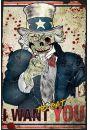 Zombie Wujek Sam - plakat - Mistyka i fantasy