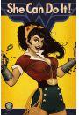DC Comics Wonder Woman She Can Do It - plakat - Plakaty z kobietami