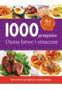 1000 przepis�w Dania �atwe i smaczne - Inne ksi��ki o dietach