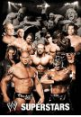 WWE Wrestling collage - plakat 3D