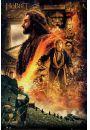 The Hobbit Pustkowie Smauga Ogień - plakat - Mistyka i fantasy