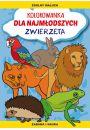 Kolorowanka dla najmłodszych Zwierzęta - Kobieta w ciąży