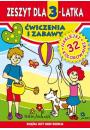 Zeszyt dla 3-latka. Ćwiczenia i zabawy Literat