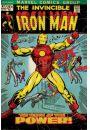 Iron Man Birth Of Power - plakat - Plakaty. Filmy dla dzieci