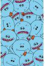 Rick AND Morty Mr Meeseeks - plakat - Seriale