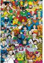 DC Comics Bohaterowie Retro - plakat - Plakaty. Filmy dla dzieci
