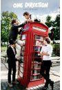 One Direction Take Me Home - Czerwona Budka Telefoniczna - plakat - Pop