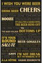 Piwo jest jak Życie - plakat - Kulinaria
