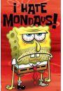 Spongebob Kanciastoporty - Nie Lubię Poniedziałków - plakat - Komedie