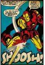 Iron Man - Atak - plakat - Akcji