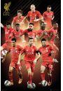 FC Liverpool Zawodnicy 2015/2016 - plakat - Razem