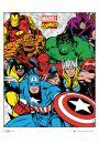 Marvel Komiks - Grupa - plakat - Plakaty. Filmy dla dzieci