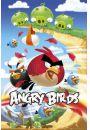 Angry Birds Atak - plakat - Gry