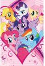 My Little Pony Bohaterowie - plakat - Plakaty. Filmy dla dzieci