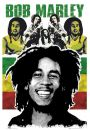 Bob Marley Rasta - plakat - Bob Marley