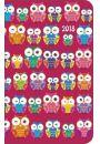 Kalendarz DI2 2018 Kolorowe sowy - Kalendarze