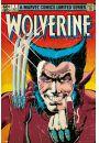 Marvel Wolverine Komiks - retro plakat