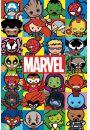 Marvel Comics Kawaii - plakat - Plakaty. Filmy dla dzieci