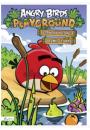 Angry Birds Playground Czerwony koloruje i łamie główkę
