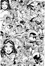 DC Comics Pokoloruj Mnie - plakat do kolorowania