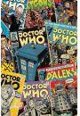 Doctor Who - Ok�adki Komiks�w - plakat - Seriale