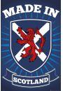 Szkocja - Made in Scotland - plakat