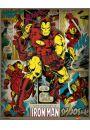 Marvel Comics - Iron Man Retro - plakat - Animowane