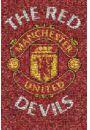 Manchester United Mozaika - plakat