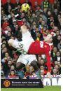 Wayne Rooney Gol z Przewrotki - Manchester United - plakat - Plakaty. Sport