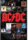 AC/DC Okładki Płyt - plakat - AC/DC