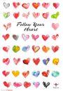 Podążaj za głosem Serca - Miłość - plakat motywacyjny - Plakaty. Motywacyjne