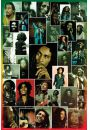 Bob Marley Kolaż - plakat - Bob Marley