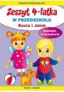 Zeszyt 4-latka. Basia i Julek. W przedszkolu