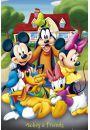 Myszka Miki i Przyjaciele - Disney Mickey Mouse - plakat - Plakaty. Filmy dla dzieci