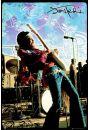 Jimi Hendrix Live - plakat - Hendrix