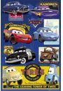 Auta - Disney Cars - Collage - plakat - Plakaty. Filmy dla dzieci