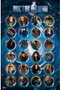 Doctor Who Bohaterowie - plakat - Fantastyczne