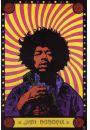 Jimi Hendrix Psychedelic - plakat - Muzyka. Pozosta�e plakaty