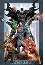 DC Comics Liga Sprawiedliwych - plakat - Plakaty. Filmy dla dzieci