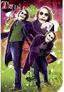 Batman Mroczny Rycerz - Joker Moje Miasto - plakat - Gangsterskie